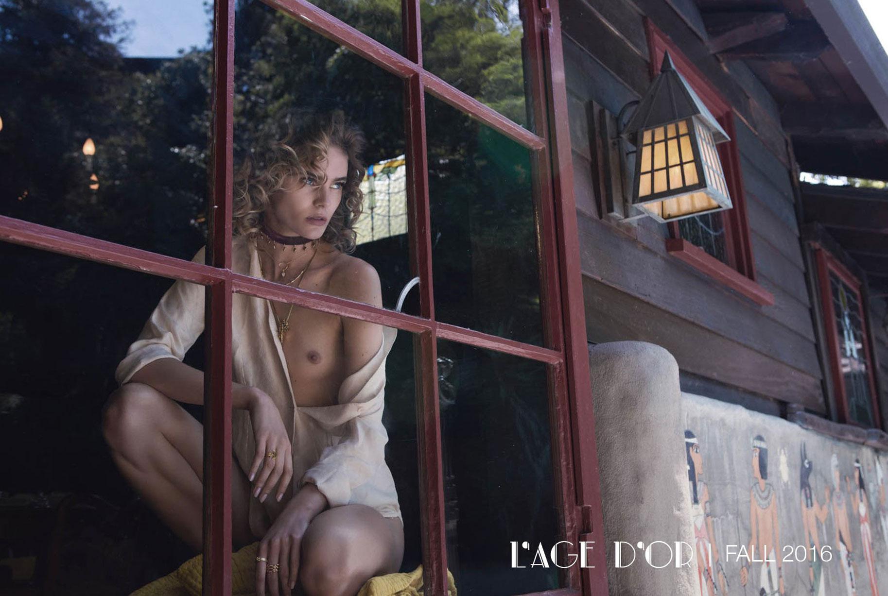 Жужу Иванюк в рекламной кампании одежды и драгоценностей модного бренда Vanessa Mooney / фото 27
