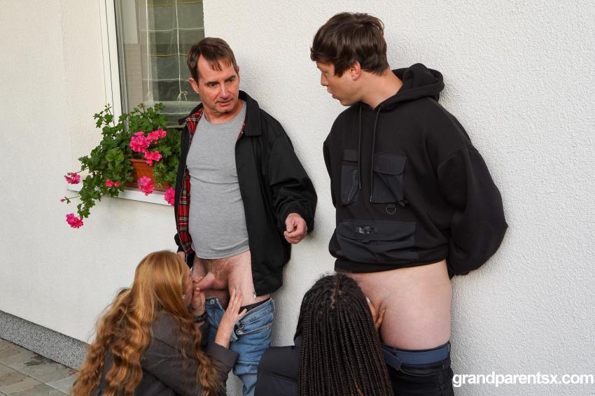 GrandparentsX.com, AdultPrime.com - Ginger Mi, Peter P, Dhalia Janeiro, Olivier