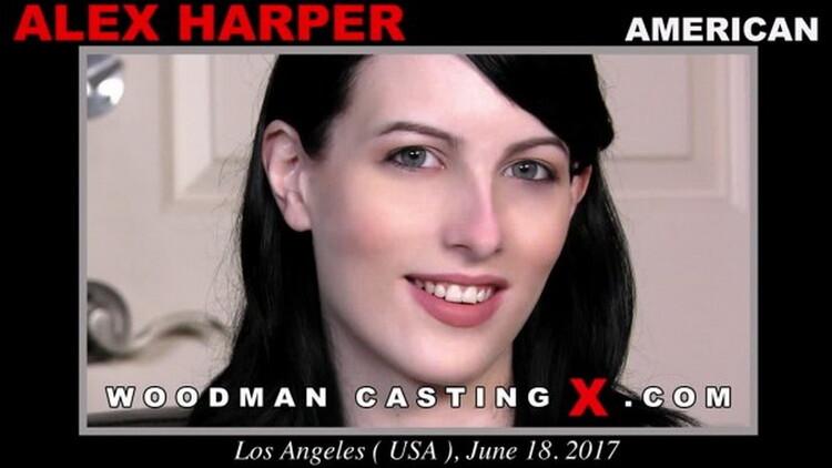 Alex Harper ~ Casting X 186 ~ WoodmanCastingX ~ HD 720p