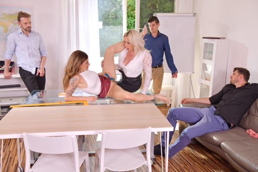 PornWorld.com: Billy Star, Brittany Bardot, Erik Everhard, Max Fonda, Josh - Parent-Teacher Conference with Billie Star, Brittany Bardot Turns to Hot DP Orgy GP2059 [FullHD 1080p] (4,29 Gb) - 2021-10-10