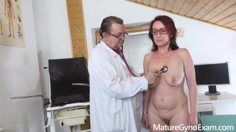 MatureGynoExam.com: Coco Blond - Old pussy exam of sexy mature woman by freaky doctor [FullHD 1080p] (757.1 Mb)