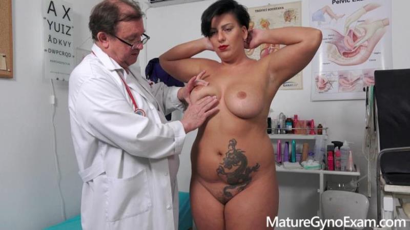 MatureGynoExam.com: Aisha Bahadur - Speculum examination and machine orgasm of horny busty MILF [FullHD 1080p] (809.88 Mb)