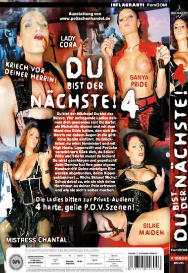 Inflagranti: Lady Cora, Silke Maiden, Sanya Pride, Mistress Chantal - Du Bist Der Nchste! #4 [SD 320p] (699.92 Mb)
