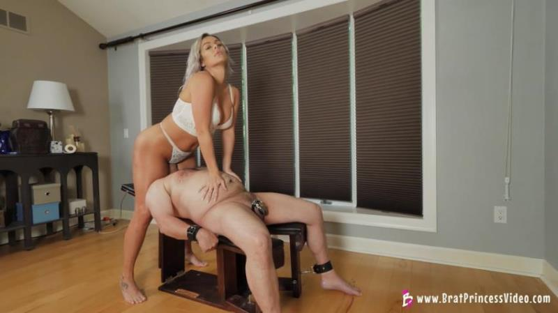 Goddess Becky - (Strapped Down And Straddled [FullHD/1080p/942.4 Mb] BratPrincess