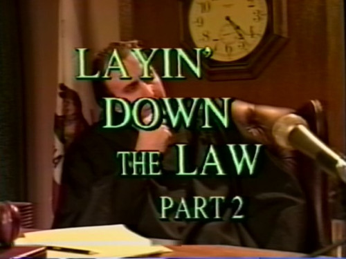 Laying Down The Law 2 [VOD 480p 1.22 Gb]
