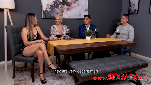 SexMex.xxx: Dasha and Esmeralda Duarte - Mother is looking for a good match to her daughter. Dasha and Esmeralda Duarte [2K UHD 2160p] (3.63 Gb)