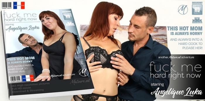Mature.nl: Hot mom fooling around with the cock from her lover Starring: Angelique Luka (EU) (31)