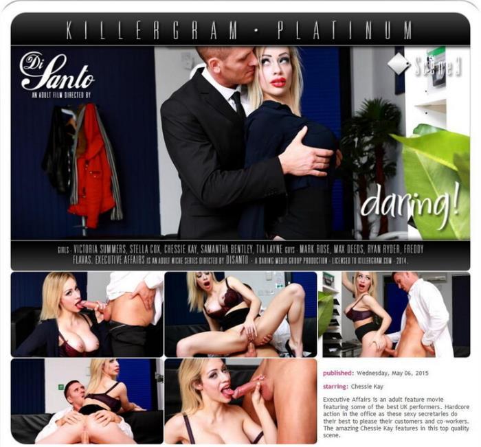 Daring.com KillerGram.com: Executive Affairs Scene 3 Starring: Chessie Kay