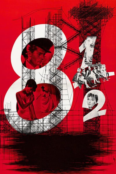 Eight and a Half 1963 ITALIAN REMASTERED 1080p BluRay x265-VXT