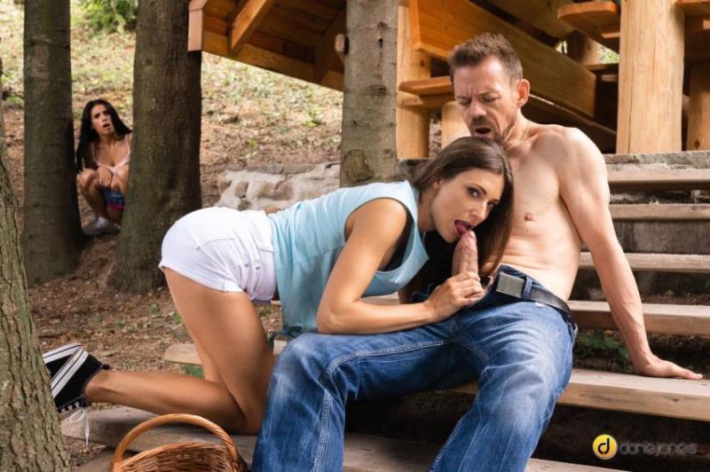 DaneJones.com/SexyHub.com: Nelly Kent, Talia Mint - Lost girls double team hot woodsman [FullHD 1080p] (1.03 Gb)