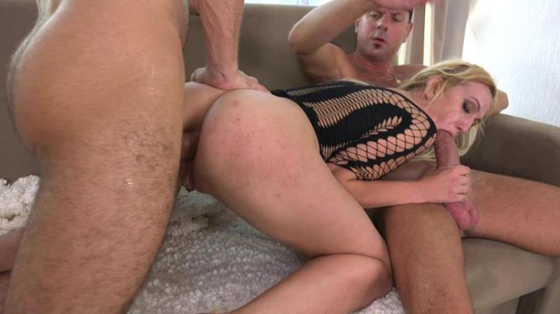 Ketty Miraje - First DP for Very Leggy Milf Ketty Miraje with Big Cocks, Gapes and Cum in Mouth VG031 [HD/720p/1.66 Gb] LegalPorno.com/AnalVids.com