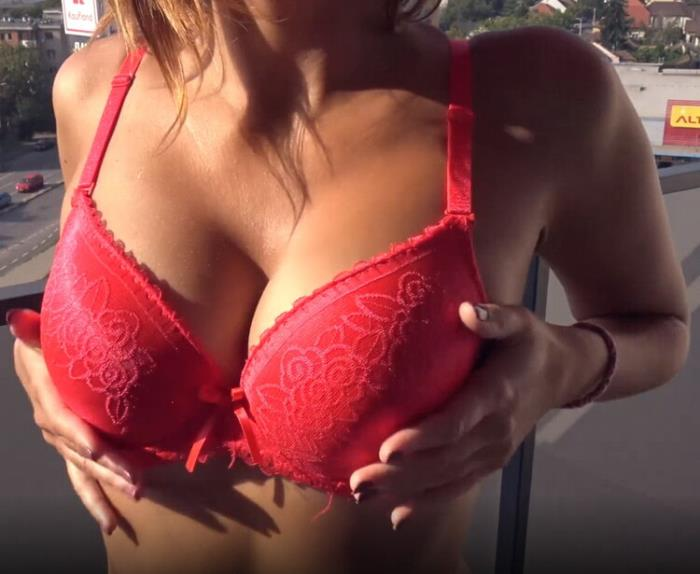 Sweet Bunny - Quivering Orgasm For Hot Teen In Red Lingerie After Masturbating On Balcony (2021 SweetBunnyHub.com) [FullHD   1080p  411.99 Mb]