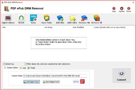 PDF ePub DRM Removal 4.21.1016.368