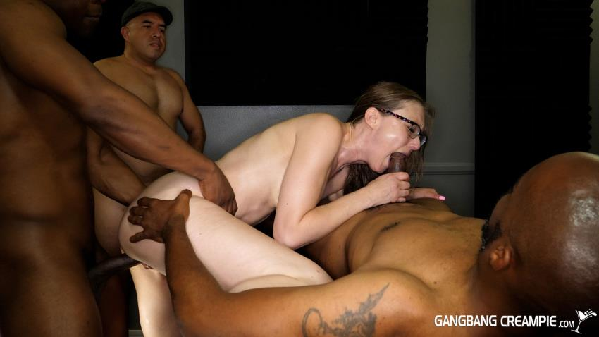 Aziani.com / GangbangCreampie.com: Gangbang Creampie 311 (Ophelia Kaan), Threesome [HD 720p]