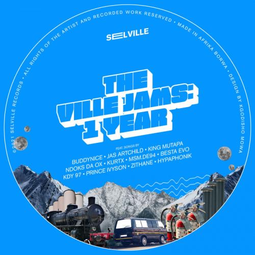 Selville, Zito Mowa — The Ville Jams: 1 Year (2021)