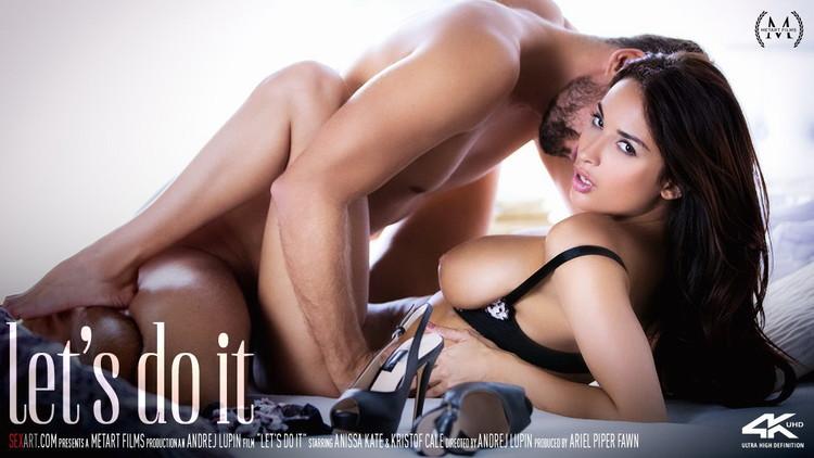 Anissa Kate, Kristof Cale - Lets Do It [SexArt/MetArt / FullHD 1080p]