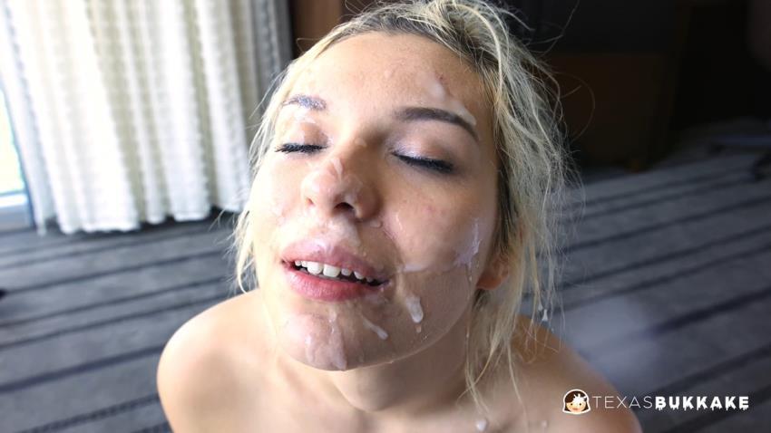 TexxxasBukkake / TexasBukkake.com / ManyVids.com: Sophia Sweets - Sophias 2nd Gangbang and Bukkake [2K UHD 2160p] (2.84 Gb)