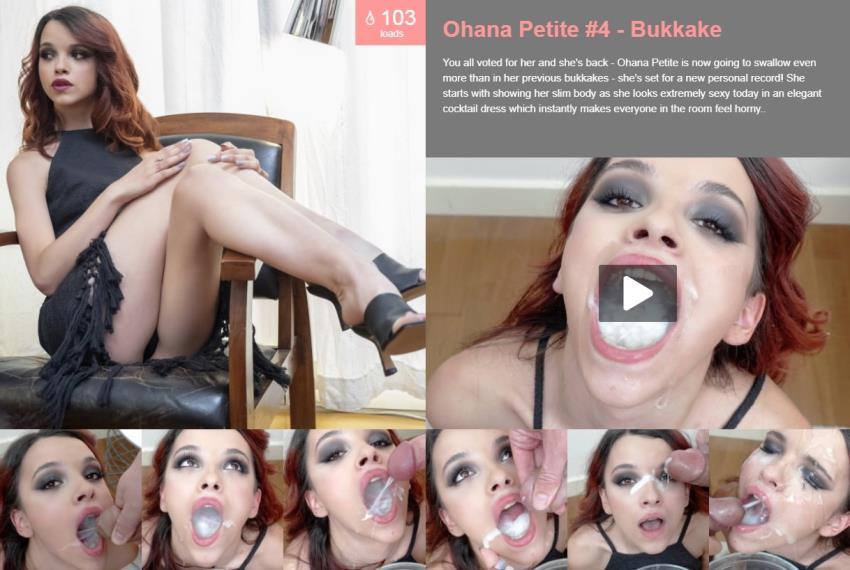 Premiumbukkake.com: Ohana Petite, - Bukkake [FullHD 1080p] (3.58 Gb)