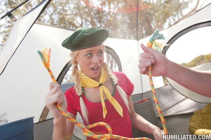 Rebecca Blue - Girl Scout Rebecca Pitches Tents (2021 Disgraced18.com Humiliated.com PornPros.com) [HD   720p  1.83 Gb]