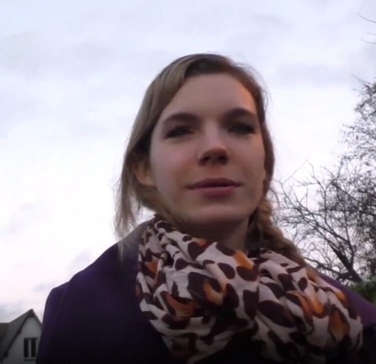 LaFRANCEaPOIL: Solene - Casting de Solene, 18 ans, retrouvee a la sortie de son lycee! [FullHD 1080p] (Casting)