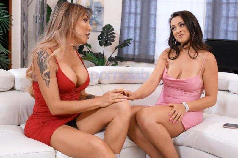TransAngels.com: Eva Paradis, Nicole Sage - Text First! [FullHD 1080p] (Transsexuals)