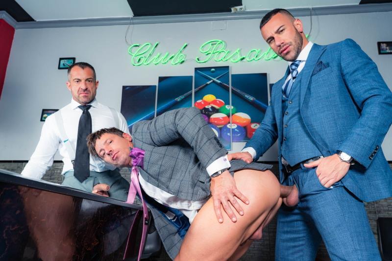 MenAtPlay.com: David Linset, Gustavo Cruz, Steve Jouret - Into The Holes [FullHD 1080p] (Gays)
