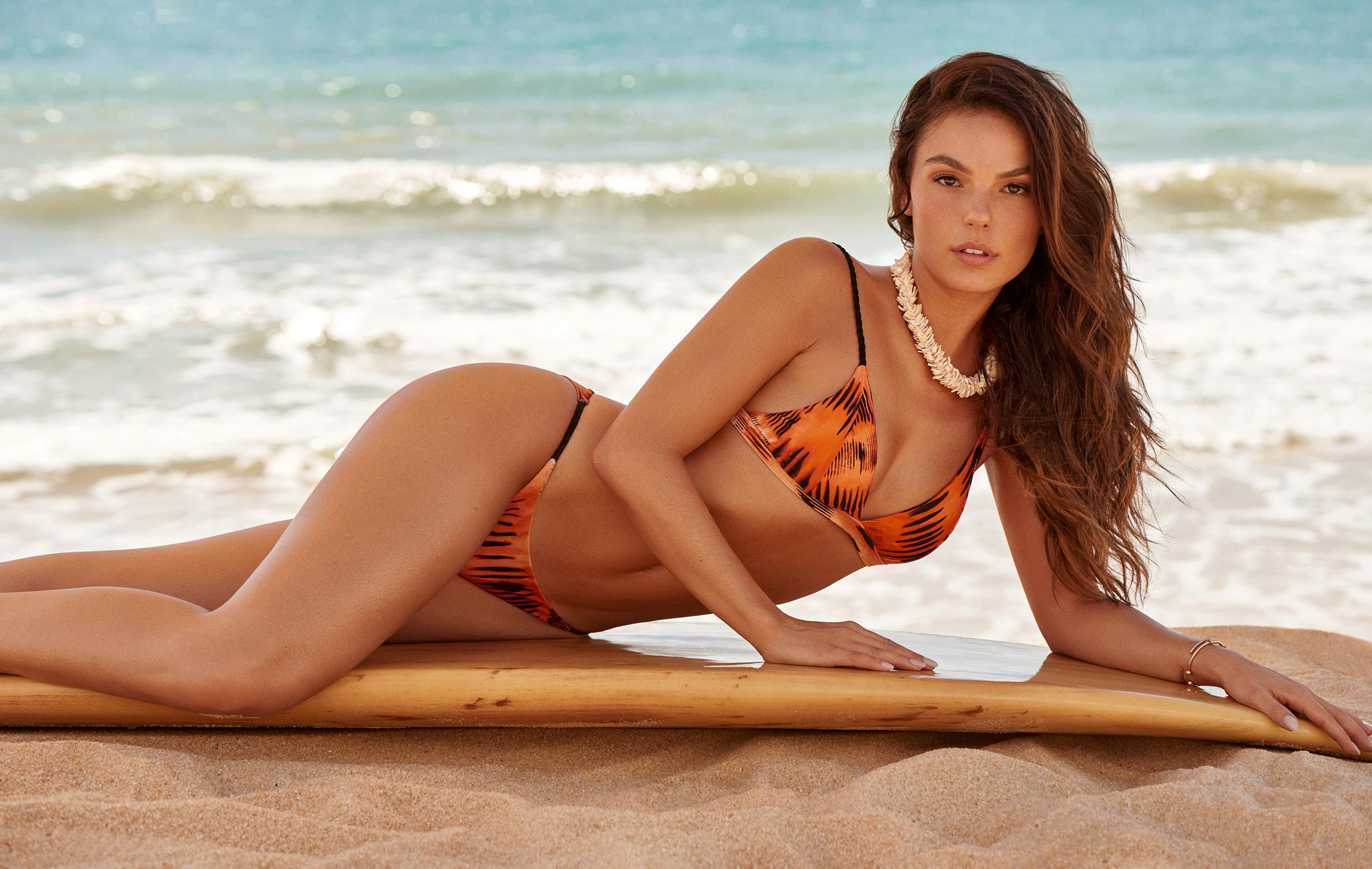 рекламная кампания купальников модного бренда Cia Maritima, сезон весна-лето 2020 / фото 01