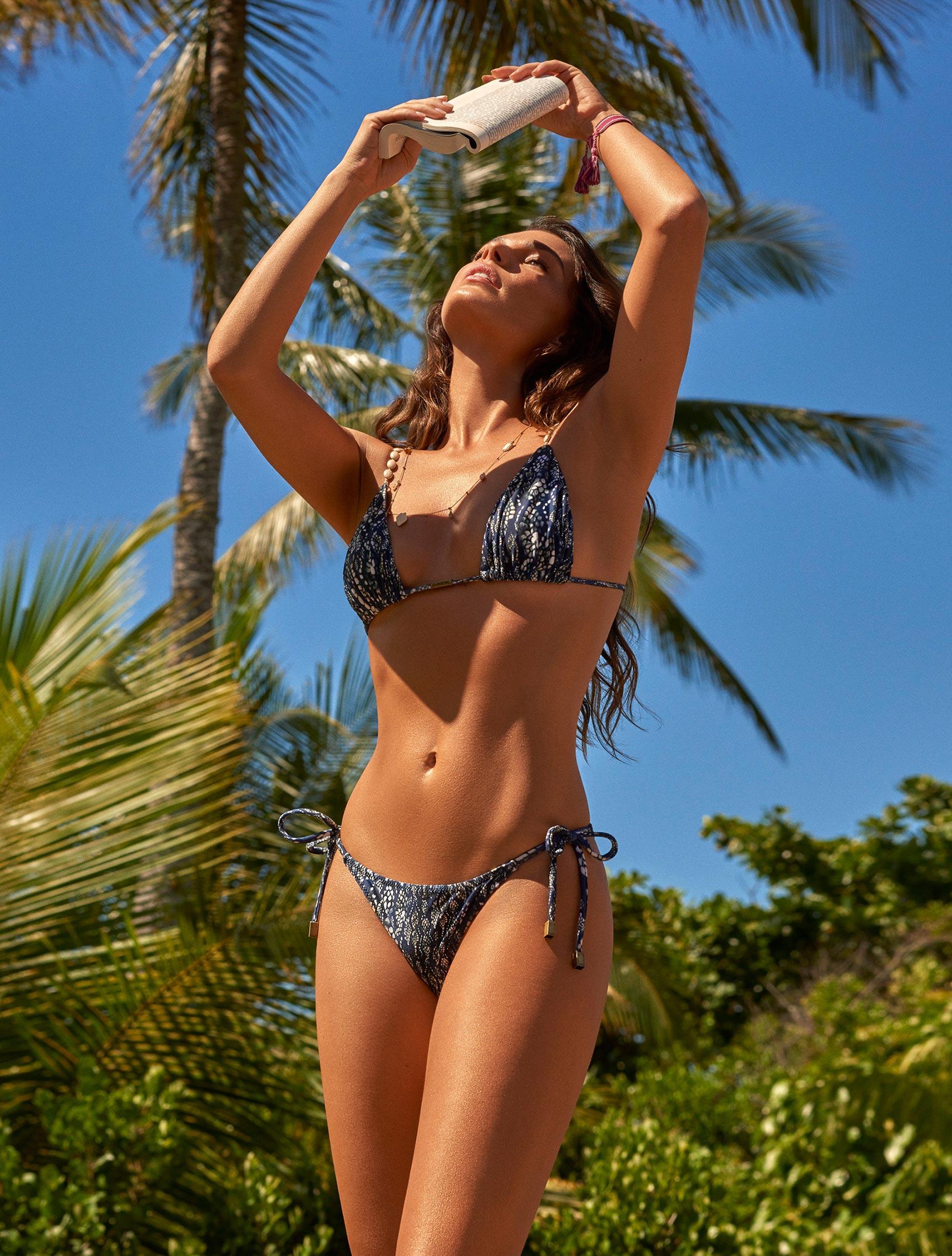 рекламная кампания купальников модного бренда Cia Maritima, сезон весна-лето 2020 / фото 05