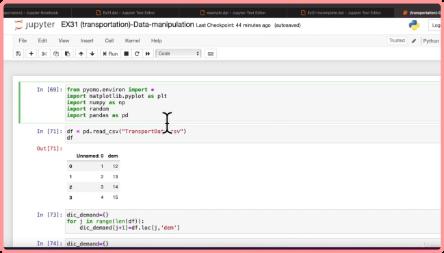 Pyomo Bootcamp - Python Optimization from Beginner to Advance