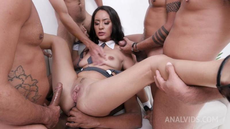 AnalVids.com: Sandy Cortez - Horny latina Sandy Cortez gets fisted and fucked with DP, DAP and double pussy YE088 [FullHD 1080p] (4.39 Gb)