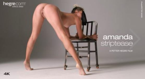 Hegre.com: Amanda - Striptease 4K [2K UHD 2160p] (1.01 Gb)