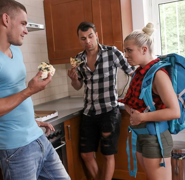 Anna Rey - Famished little traveler gets double helping (FakeHostel/FullHD) - Flashbit