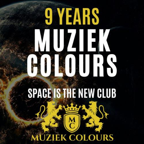 9 Years Muziek Colours (Space Is The New Club) (2021)