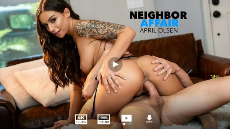 APRIL OLSEN LOVES MUSIC AND NOW SHE WANTS TO FUCK HER PIANO MASTER NEIGHBOR!!