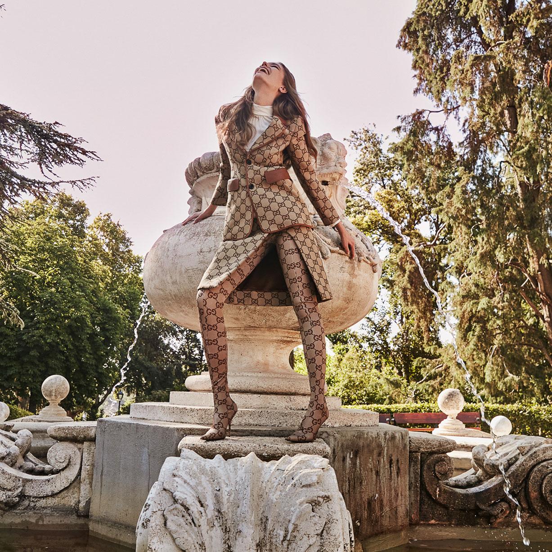 осенняя мода на страницах Elle Испания / фото 01