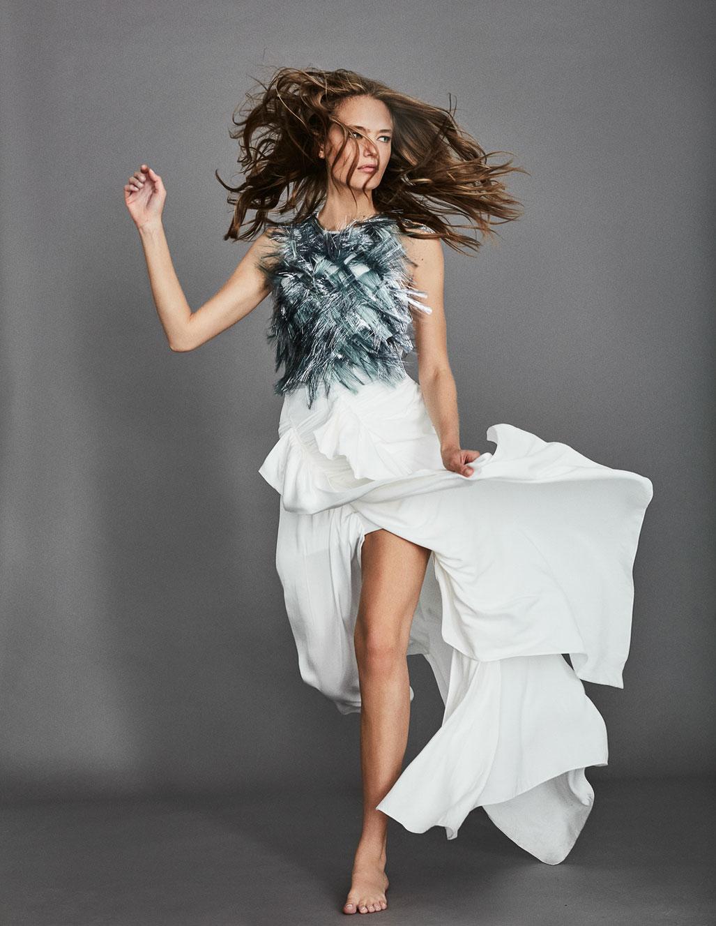 осенняя мода на страницах Elle Испания / фото 05