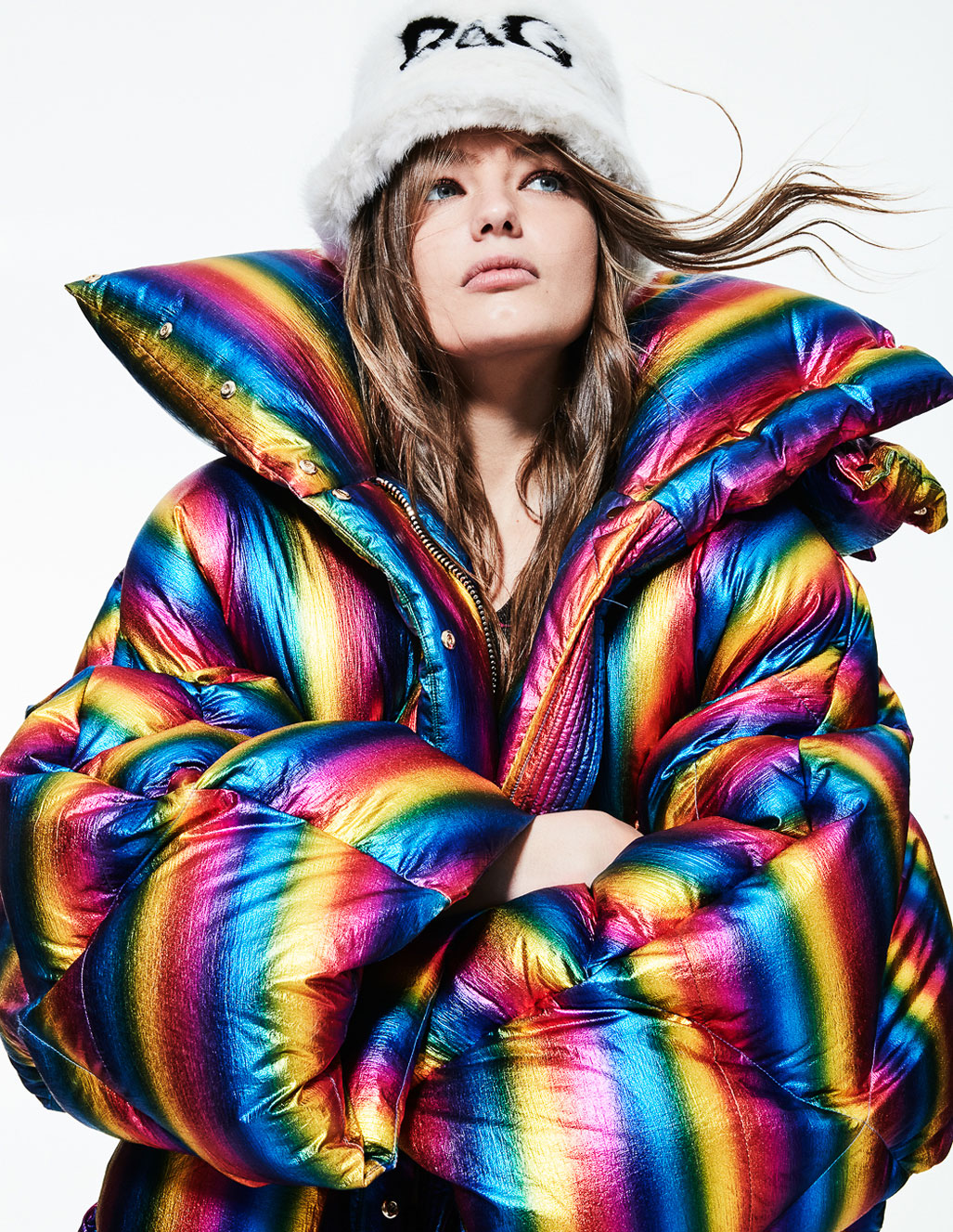 осенняя мода на страницах Elle Испания / фото 06