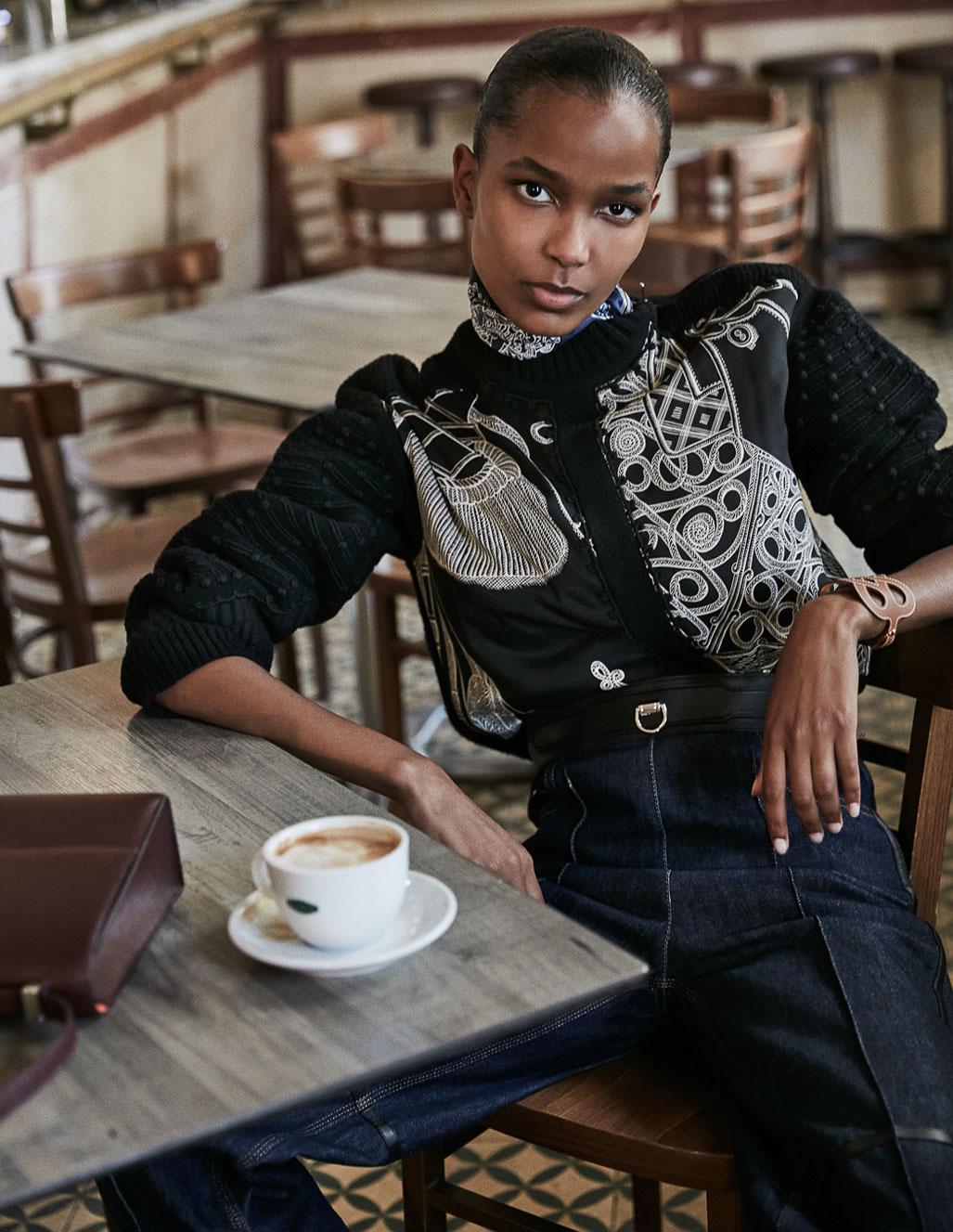 осенняя мода на страницах Elle Испания / фото 10