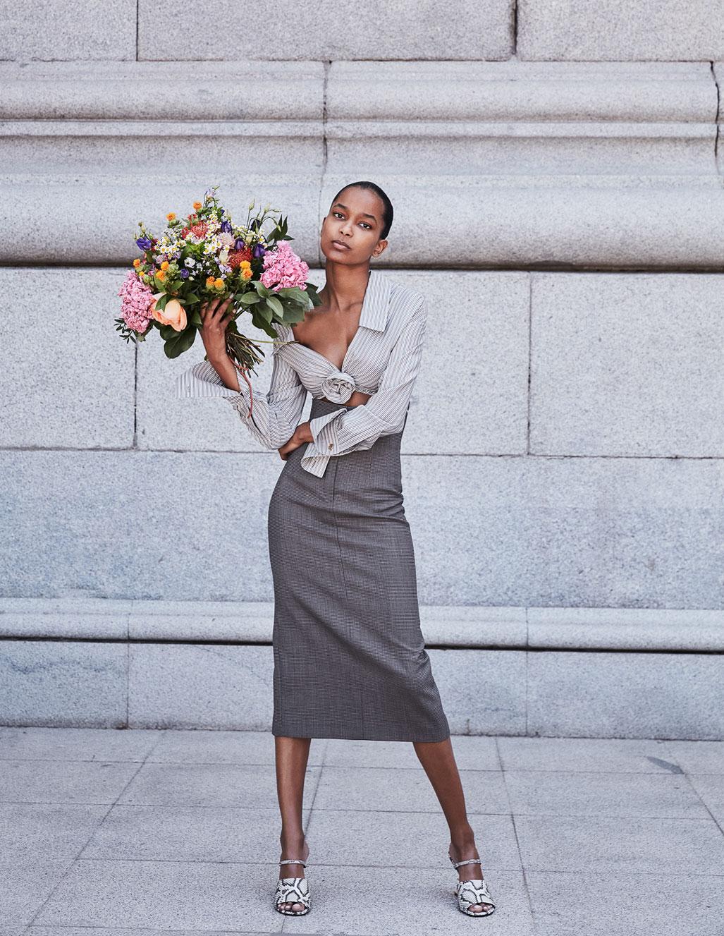 осенняя мода на страницах Elle Испания / фото 13