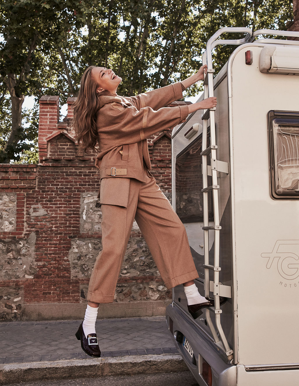 осенняя мода на страницах Elle Испания / фото 14