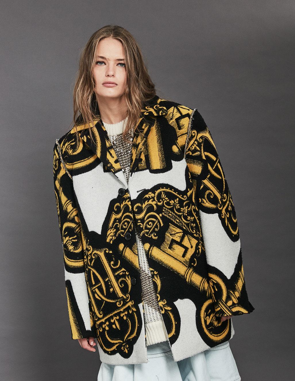 осенняя мода на страницах Elle Испания / фото 16