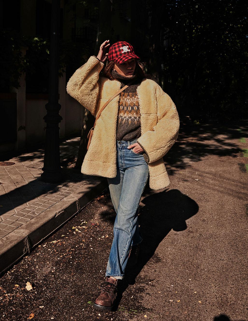 осенняя мода на страницах Elle Испания / фото 17