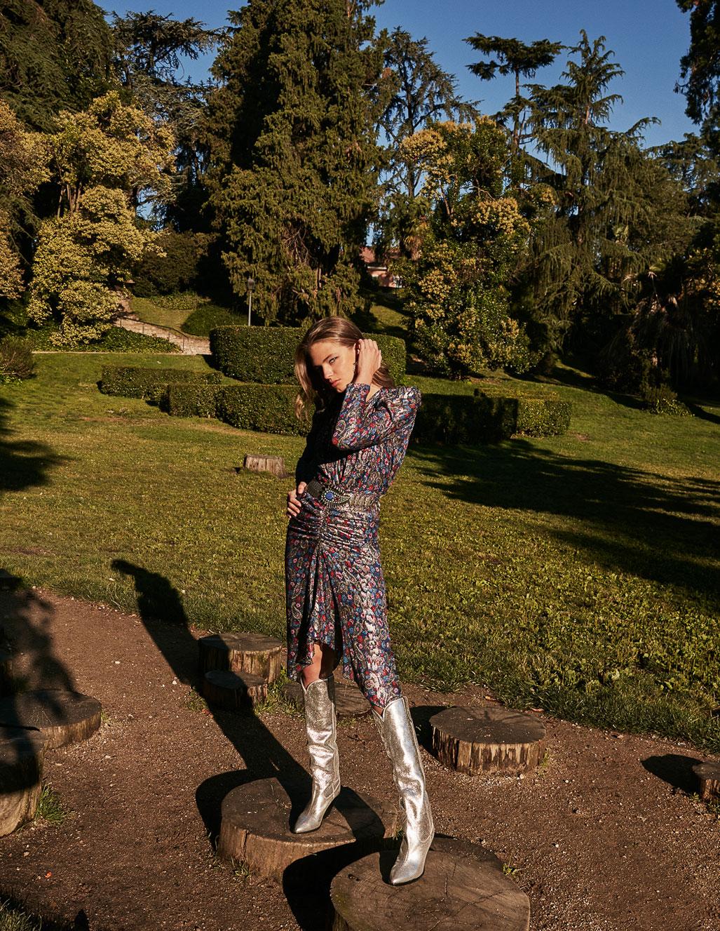 осенняя мода на страницах Elle Испания / фото 19